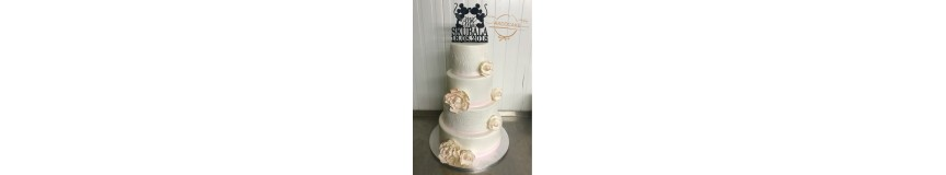 Structure wedding cake