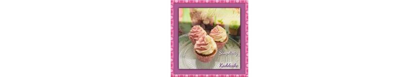Caissettes et wrap à Cupcakes